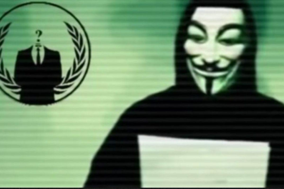 El grupo de hackers Anonymus declaró la guerra a ISIS la semana pasada un día después de los atentados. Foto:Vía Youtube. Imagen Por: