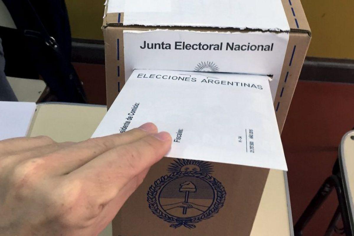 Igual que en la primera vuelta están convocados unos 32 millones de argentinos. Foto:AFP. Imagen Por: