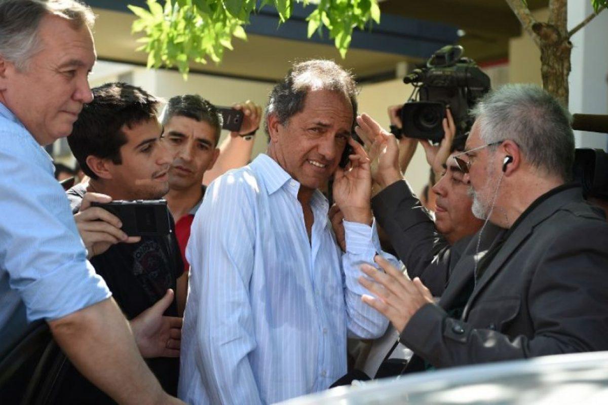 Daniel Scioli es el candidato presidencial del partido Frente para la Victoria Foto:AFP. Imagen Por: