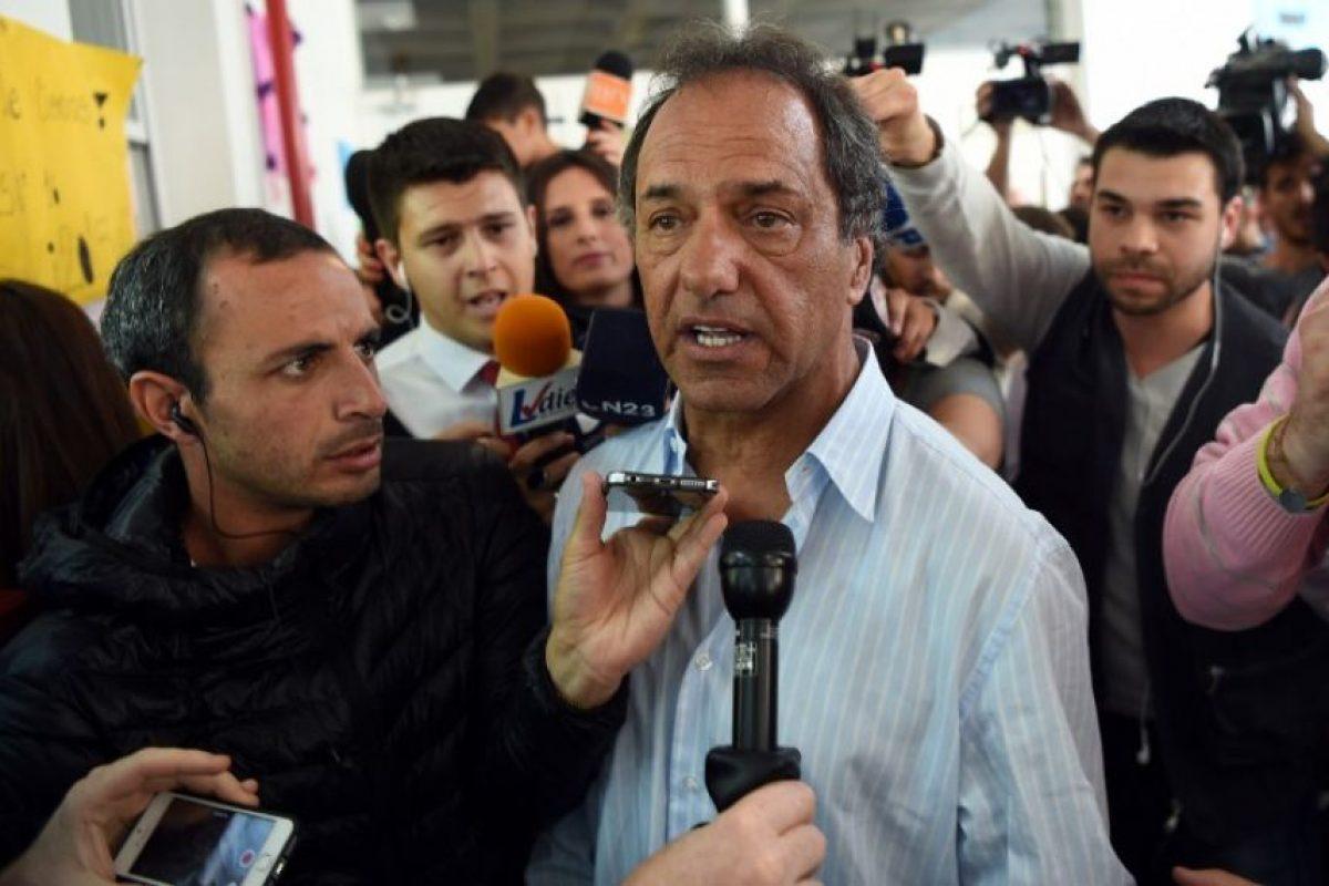Fue el candidato más votado en las elecciones PASO y ganó la primera vuelta electoral Foto:AFP. Imagen Por: