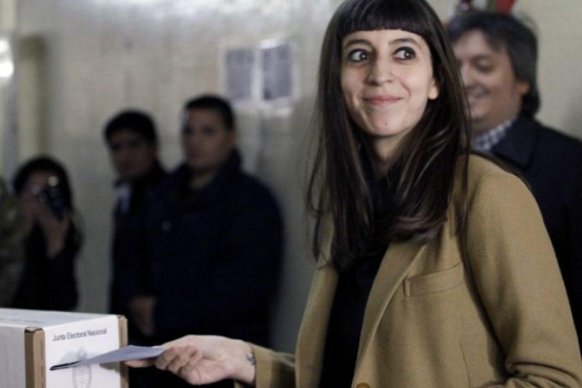 Florencia Kirchner Foto:AFP. Imagen Por: