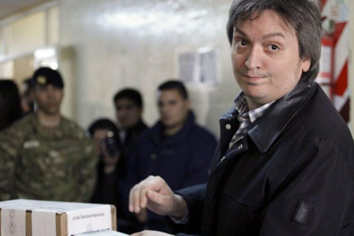 Y Máximo Kirchner Foto:AFP. Imagen Por: