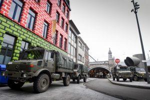 Como medida de seguridad los lugares públicos fueron cerrados. Foto:AFP. Imagen Por: