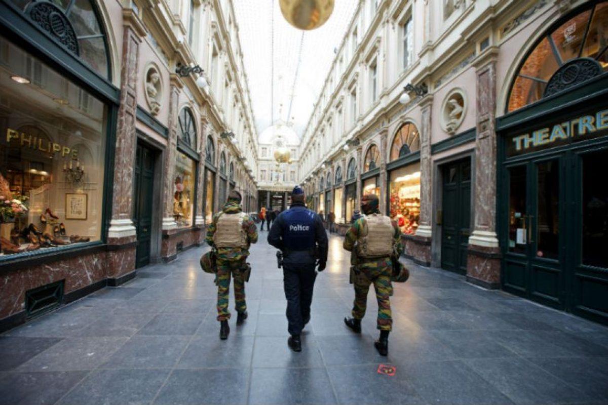El miedo se apodero de la capital belga. Foto:AFP. Imagen Por: