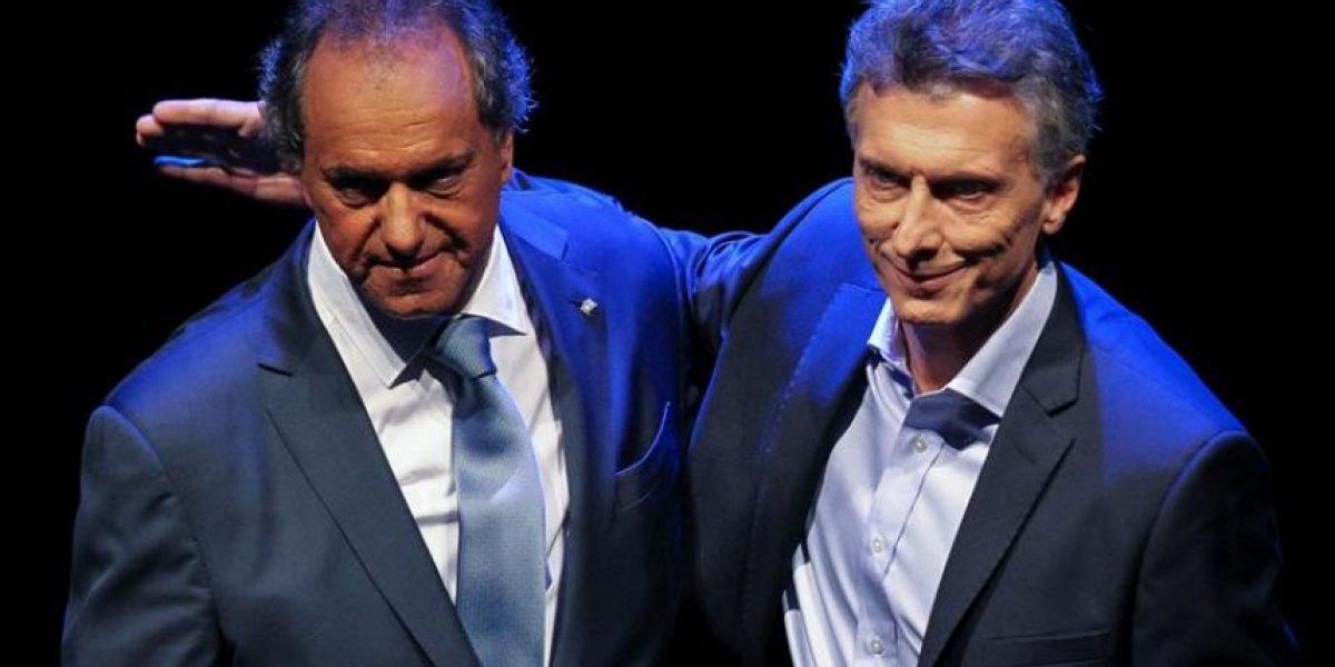Scioli y Macri ya votaron en segunda vuelta de la presidencial argentina