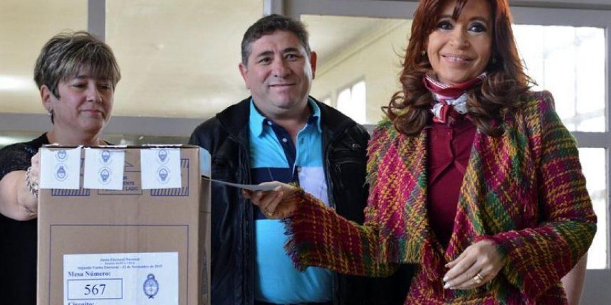 Presidenta argentina llamó a votar