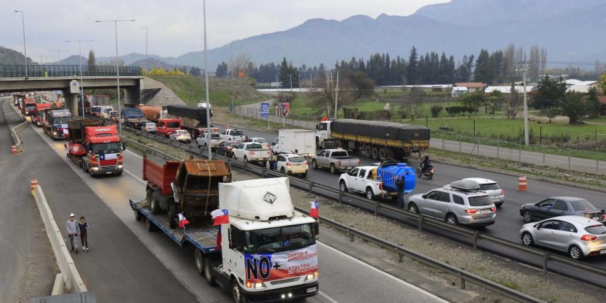 INDH cuestiona al Gobierno por vulnerar derechos de camioneros