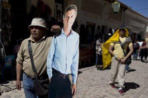 Mientras que Macri llegó al 34.5% Foto:AP. Imagen Por: