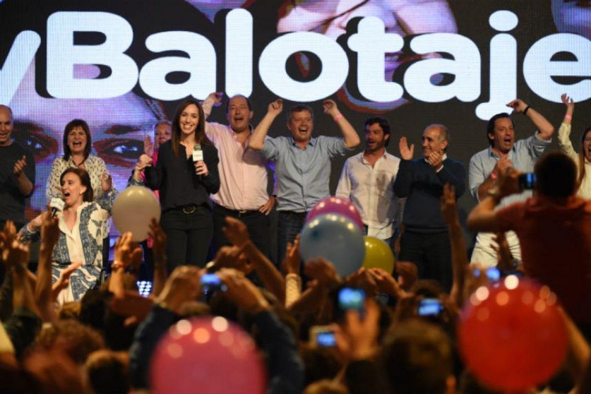 Es la primera vez que Argentina celebra comicios presidenciales en segunda vuelta. Foto:AFP. Imagen Por: