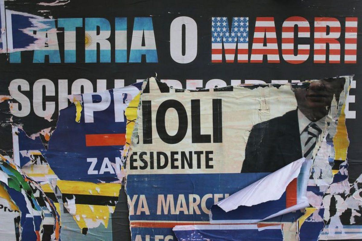 Aunque los primeros resultaron también apuntaron una victoria de Mauricio Macri Foto:Getty Images. Imagen Por: