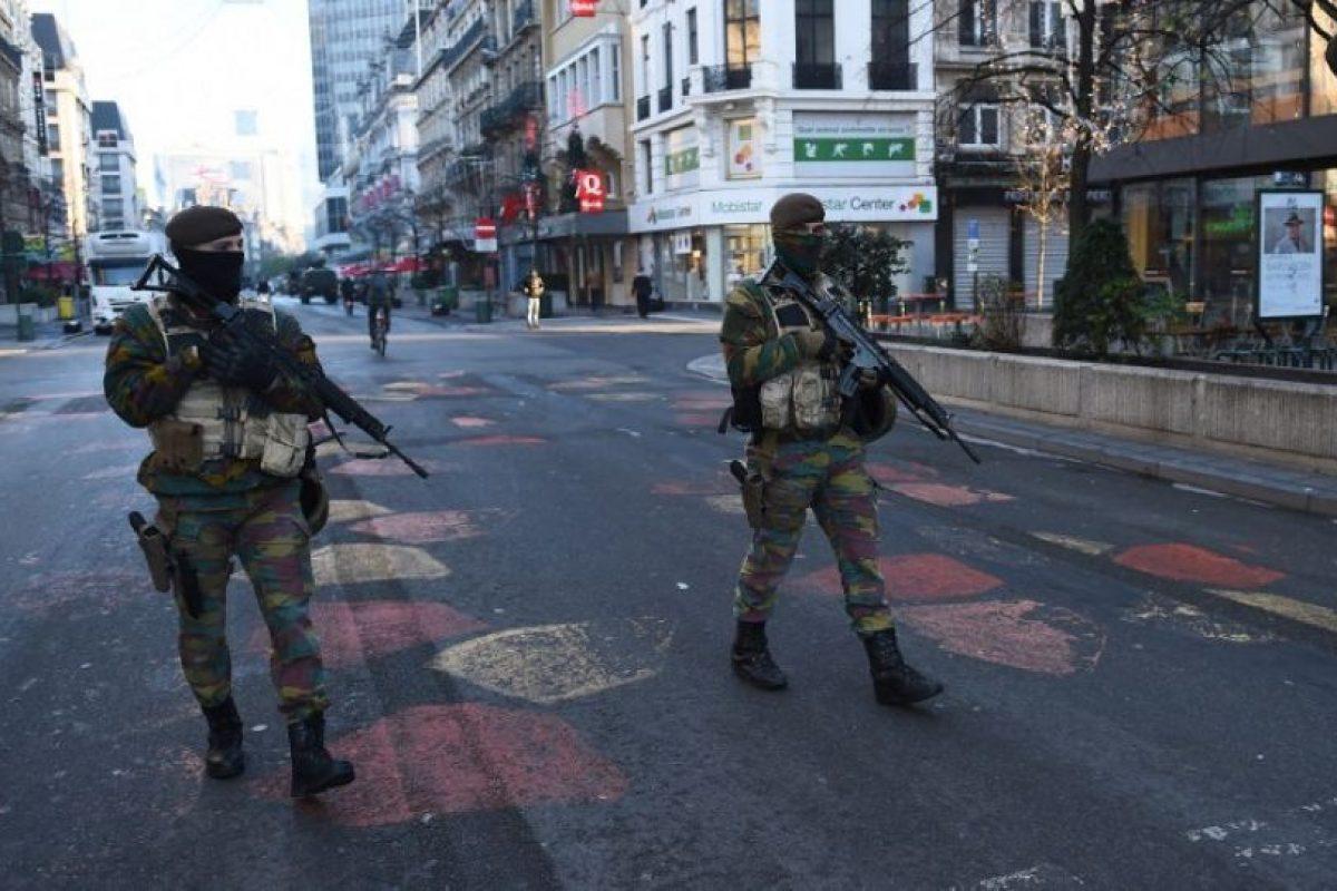 La Policía francesa encontró el cinturón dentro de un contenedor de basura. Foto:AFP. Imagen Por: