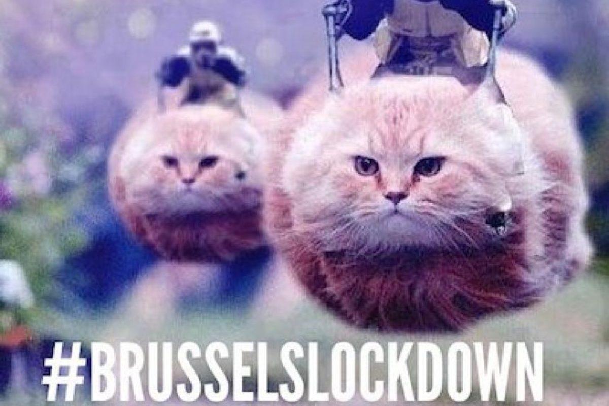 Foto:Instagram.com/explore/tags/brusselslockdown/. Imagen Por: