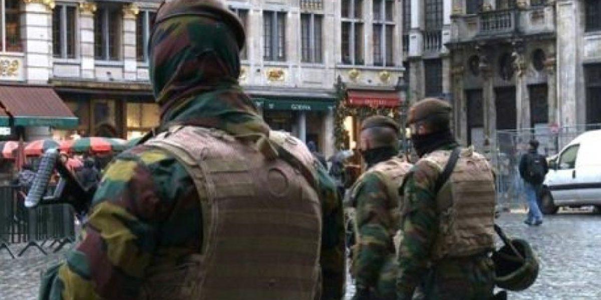 Bruselas seguirá el lunes en estado de máxima alerta antiterrorista