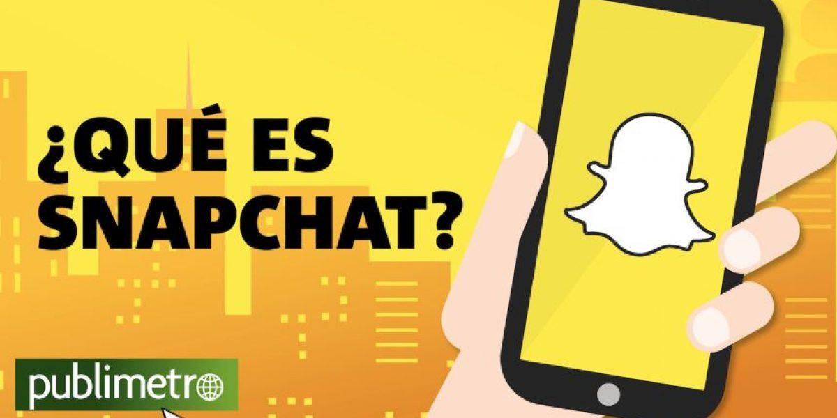 Infografía: ¿Qué es Snapchat?