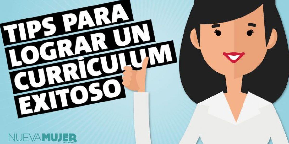 Infografía: tips para lograr un currículum exitoso