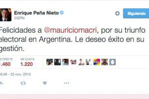 Enrique Peña Nieto, presidente de México Foto:Twitter.com. Imagen Por: