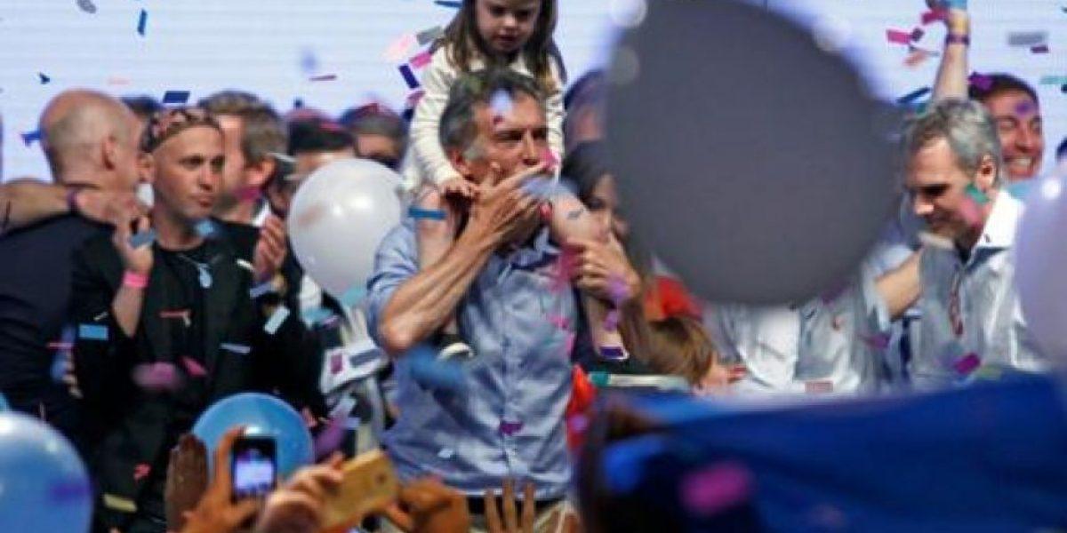 Macri anuncia una nueva era en Argentina al ganar la presidencia