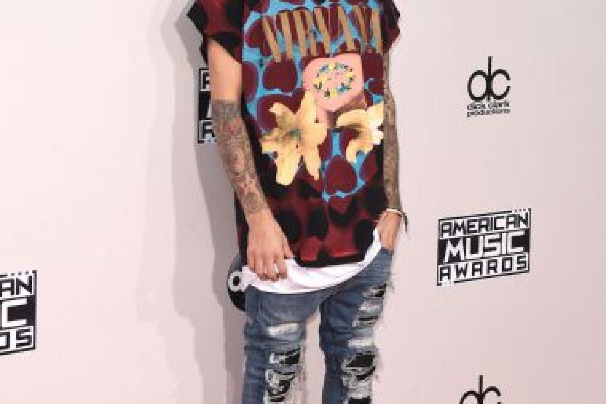 Justin Bieber fue de los peor vestidos en los AMAs Foto:Getty Images. Imagen Por: