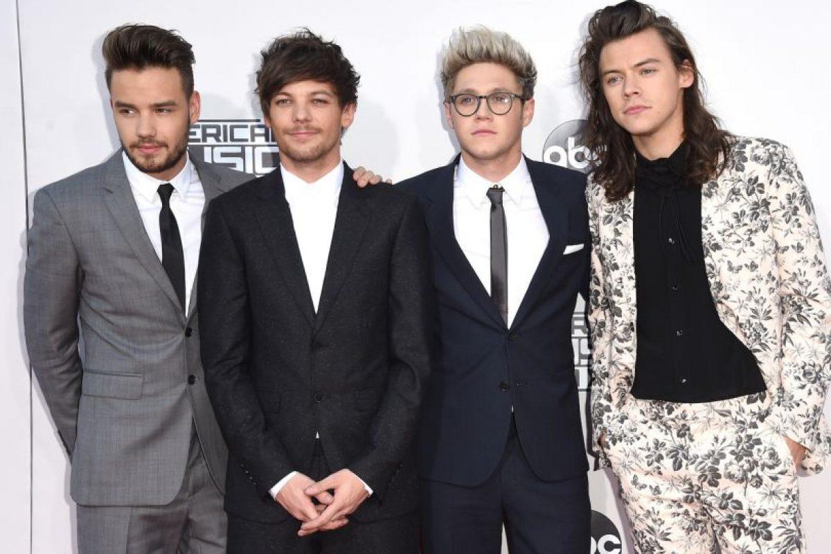 Mejor grupo por/rock: One Direction. Los británicos también recibieron el premio a Artista del año. Foto:Getty Images. Imagen Por: