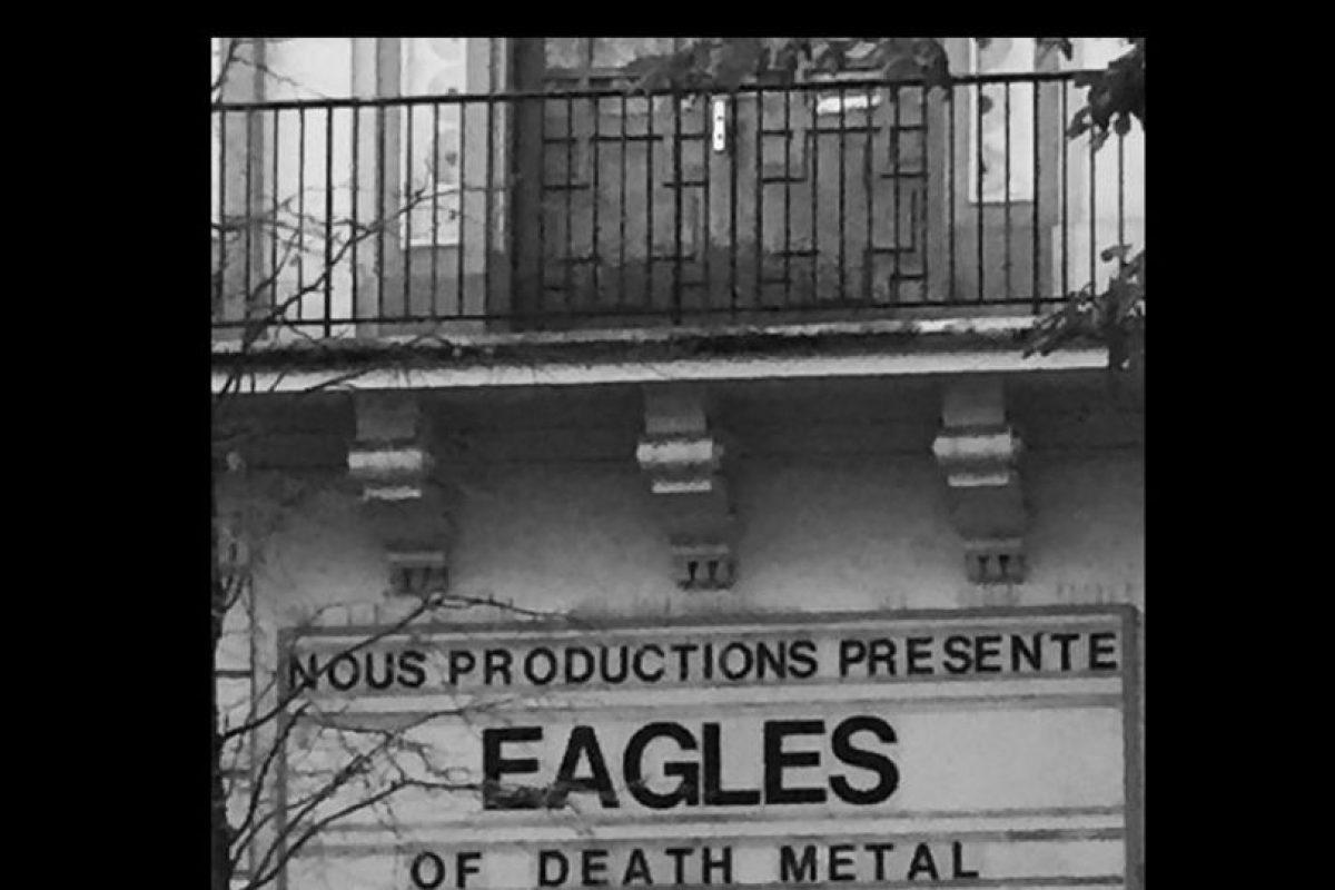 El viernes 13 de noviembre la banda se presentaba en Bataclan. Foto:Vía Instagram. Imagen Por: