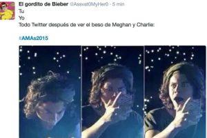 El beso de Meghan Trainor y Charlie Puth Foto:Vía Twitter. Imagen Por: