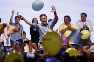 Este domingo el candidato Mauricio Macri ganó las elecciones. Foto:AFP. Imagen Por: