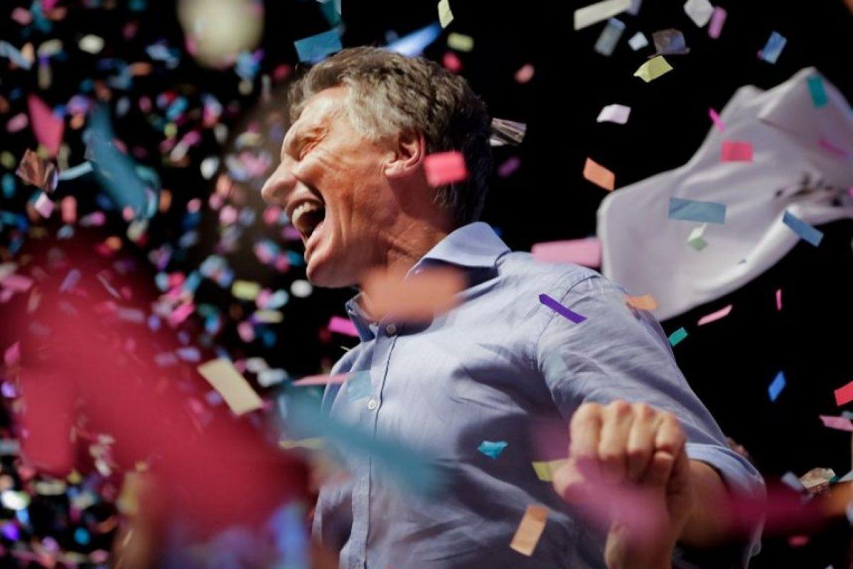 Su principal competidor fue Daniel Scioli Foto:AFP. Imagen Por: