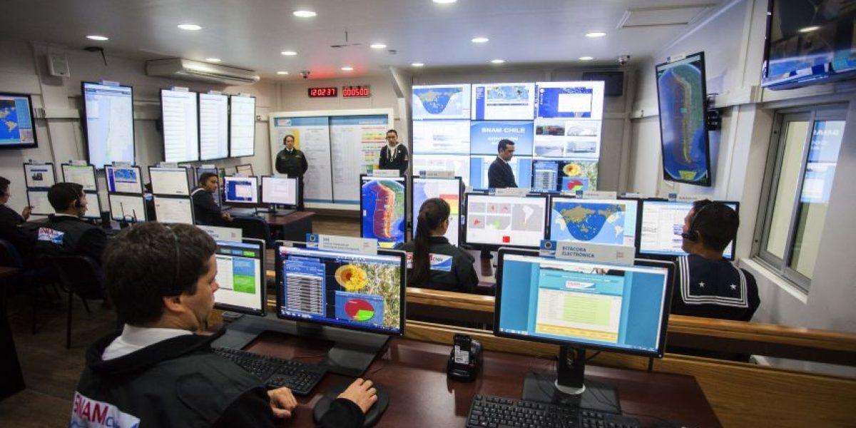 SHOA inaugura nueva Sala de Alerta de Maremotos