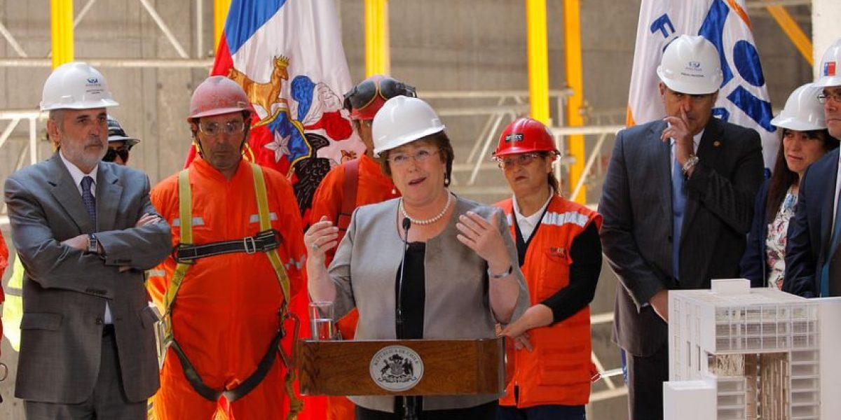 Presidenta Bachelet afirma que la delincuencia ha disminuido en Chile