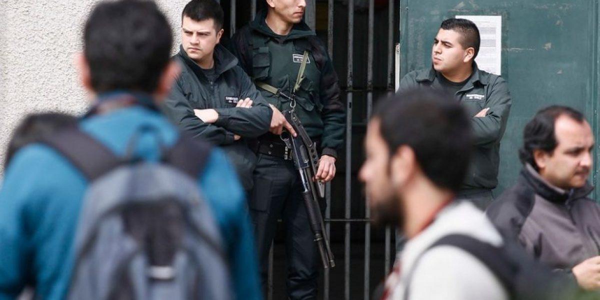 Duro recibimiento a Álvaro Corbalán en la Cárcel de Alta Seguridad