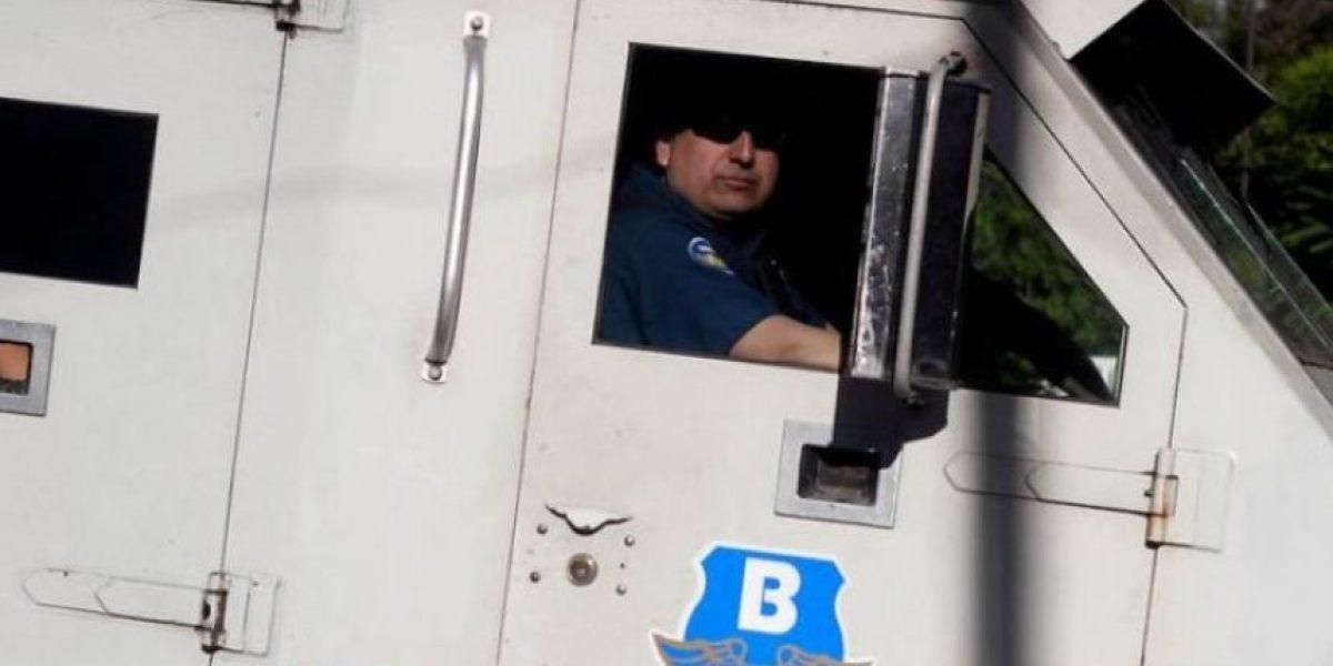 En Talca detienen a guardia que robó sacos de dinero desde camión de valores