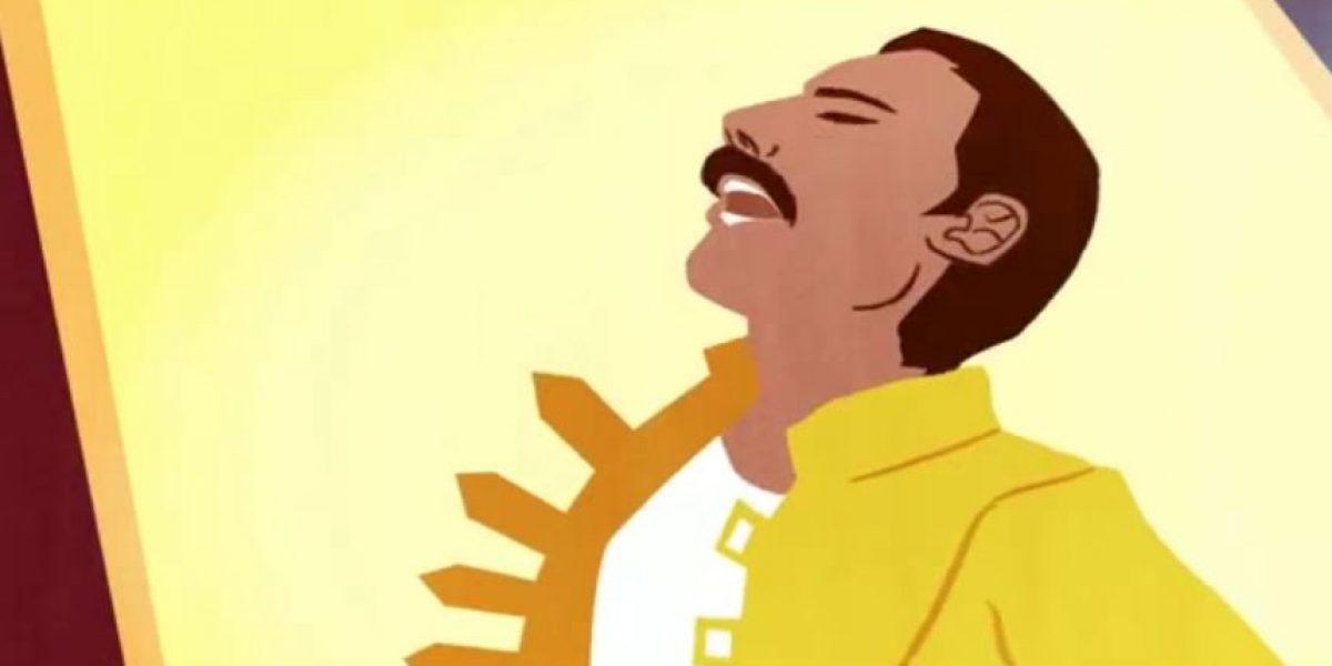 ¿No lo viste? Este es el sorprendente Doodle que recuerda a Freddie Mercury