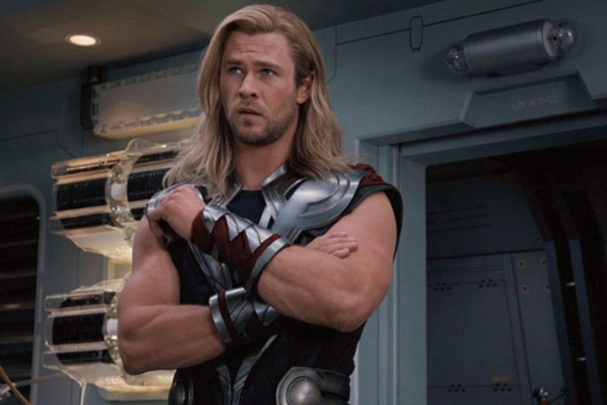 """El actor saltó a la fama por interpretar al superhéroe """"Thor"""" de Marvel Cómics. Foto:IMDB. Imagen Por:"""