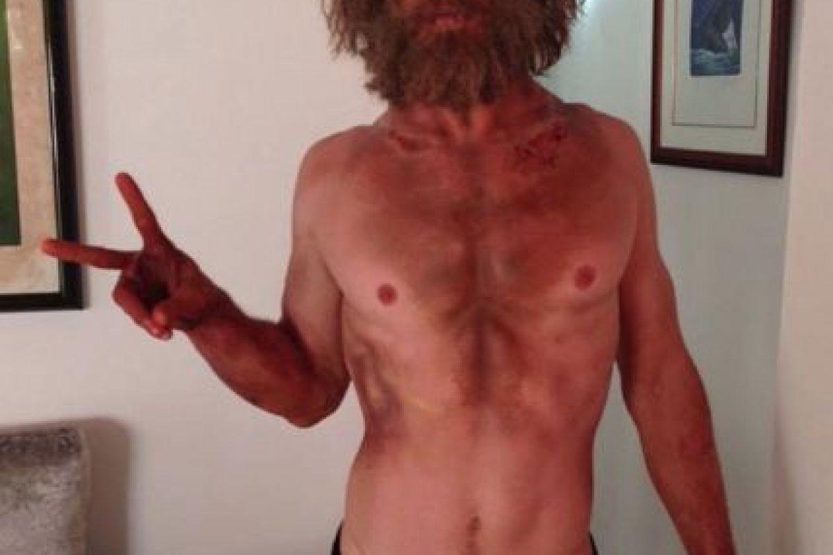 El actor perdió hasta 700 calorías al día para conseguir esta figura. Foto:vía instagram.com/chrishemsworth. Imagen Por: