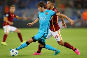 1. Barcelona suma 10 puntos, por cinco de la Roma y cuatro de Bayer Leverkusen; un triunfo de los culés les aseguraría el liderato del sector E Foto:Getty Images. Imagen Por: