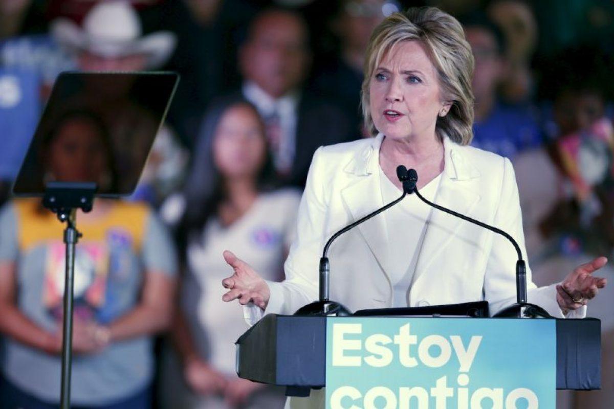 Algunas encuestas la señalan en la primera posición de los precandidatos del Partido Democrata. Foto:Getty Images. Imagen Por: