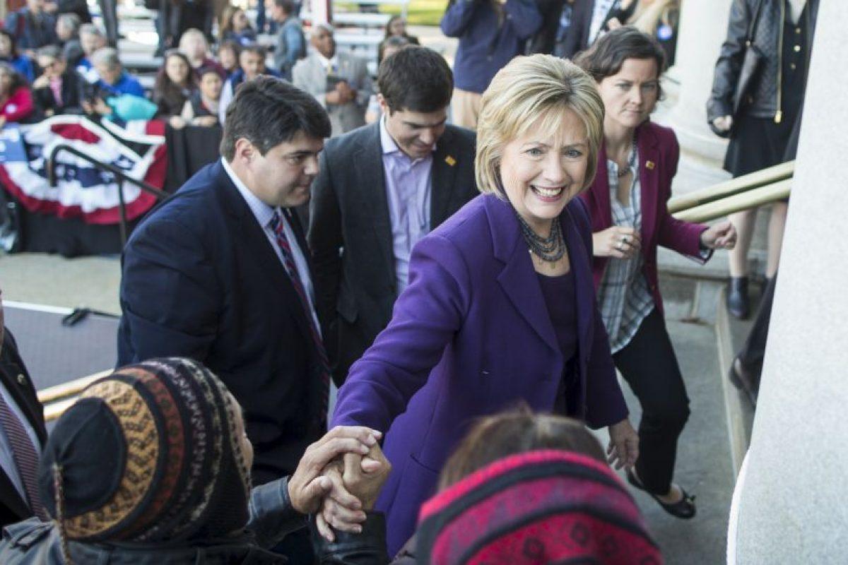A sus 68 años está luchando por volverse la primera presidenta de Estados Unidos. Foto:Getty Images. Imagen Por: