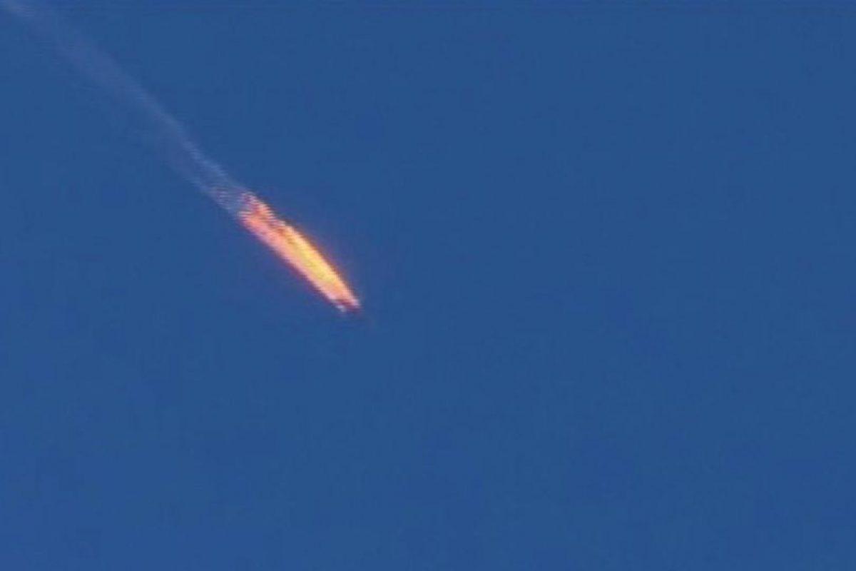 El avión de combate era un caza SU-24 Foto:AP. Imagen Por: