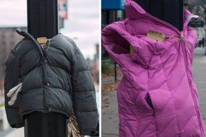 Pequeños donan abrigos para vagabundos. Foto:Vía Facebook/tara.smithatkins. Imagen Por: