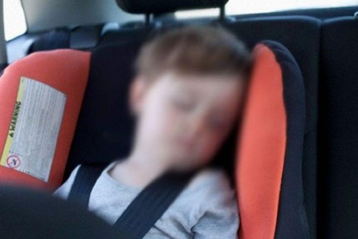 4. Según Safe Kids, 30 niños mueren cada año cuando están solos en el auto. Foto:Vía Pinterest. Imagen Por: