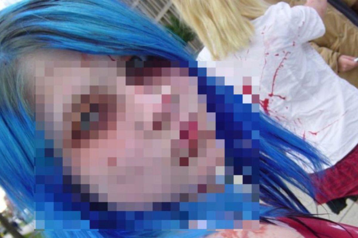 Se tiene- sí o sí- que aplicar a 1,27 cms del cuero cabelludo. Porque el color original, con toda su intensidad, quedará impregnado en esa zona. Imaginen el efecto. Foto:vía HairFails.com. Imagen Por: