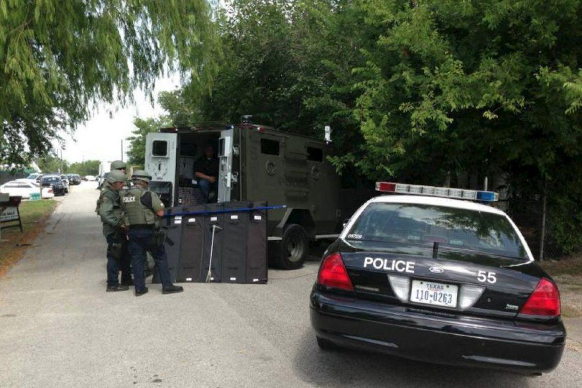 Todo ocurrió en Texas, Estados Unidos. Foto:Vía facebook.com/Texascitypd. Imagen Por: