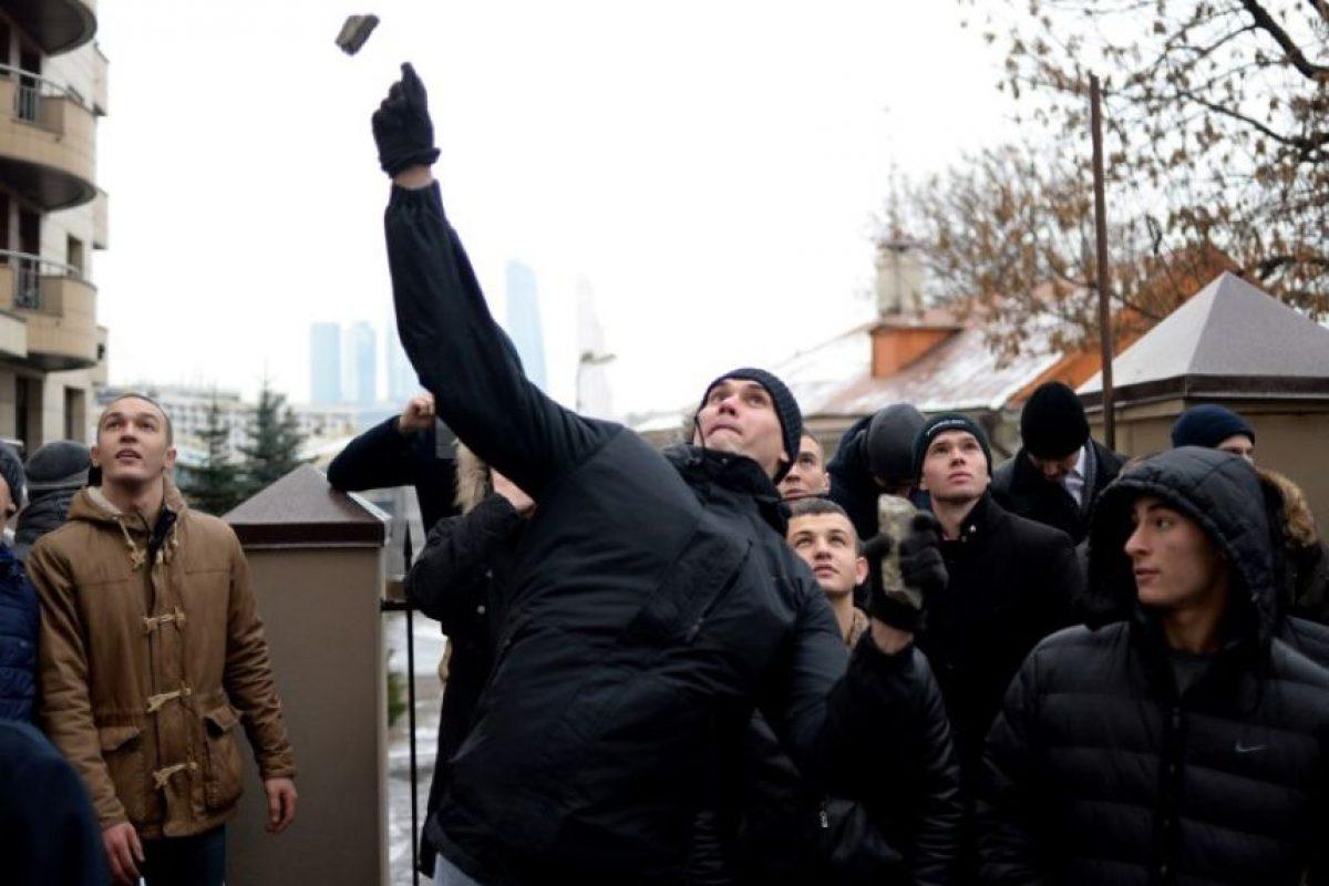 Rusia señaló que podría establecer sanciones económicas Foto:AFP. Imagen Por: