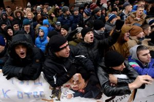 """""""Lo único que hicimos fue defender nuestra seguridad"""", explicó Foto:AFP. Imagen Por:"""