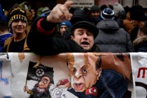 """Estados Unidos y Europa insistieron en que existan conversaciones para """"calmar"""" Foto:AFP. Imagen Por:"""
