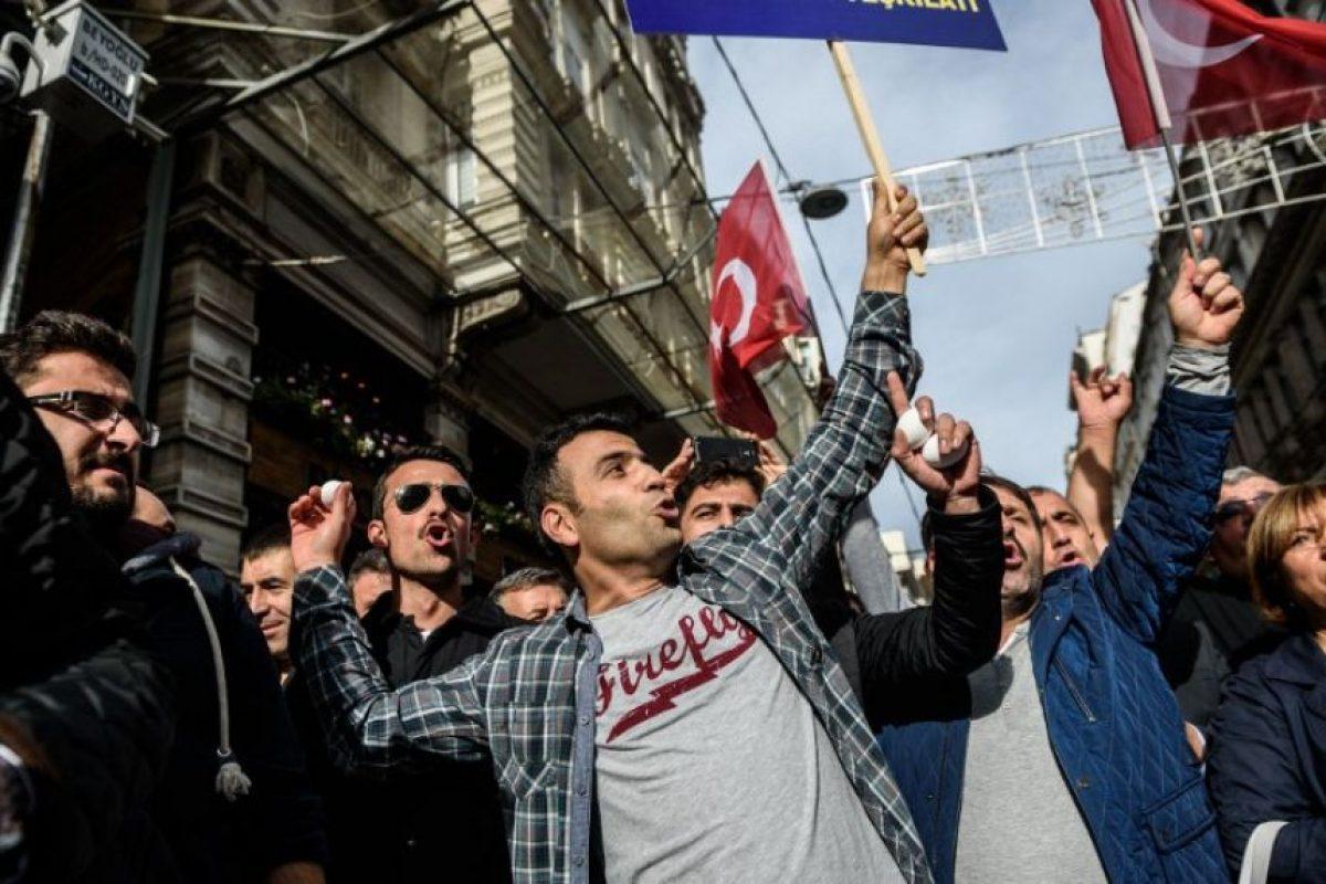 """""""Se trata de un problema más profundo: el actual gobierno de Turquía sigue una política interna de islamización"""" Foto:AFP. Imagen Por:"""