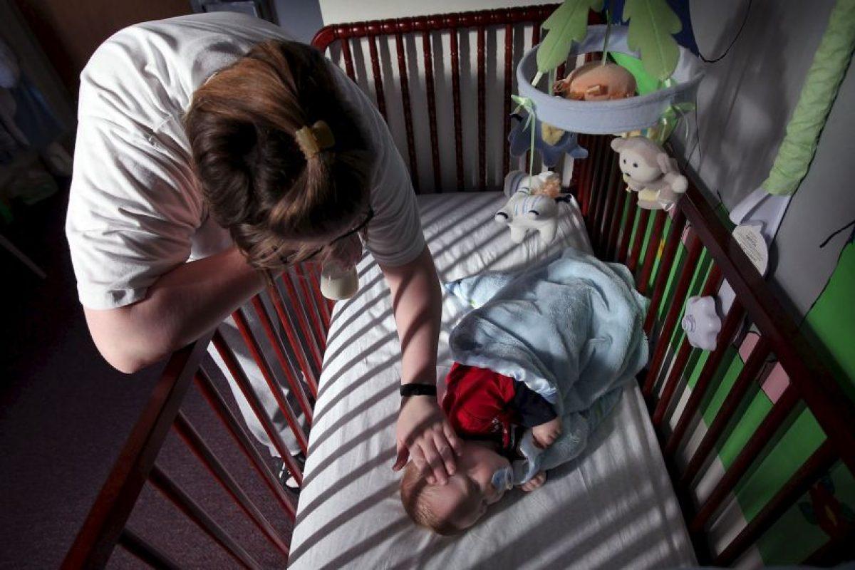 Lucía Desirée Pastenez, de Argentina sintió que revivió su propia historia cuando su hijo de 14 años le informó que sería papá. Foto:Getty Images. Imagen Por: