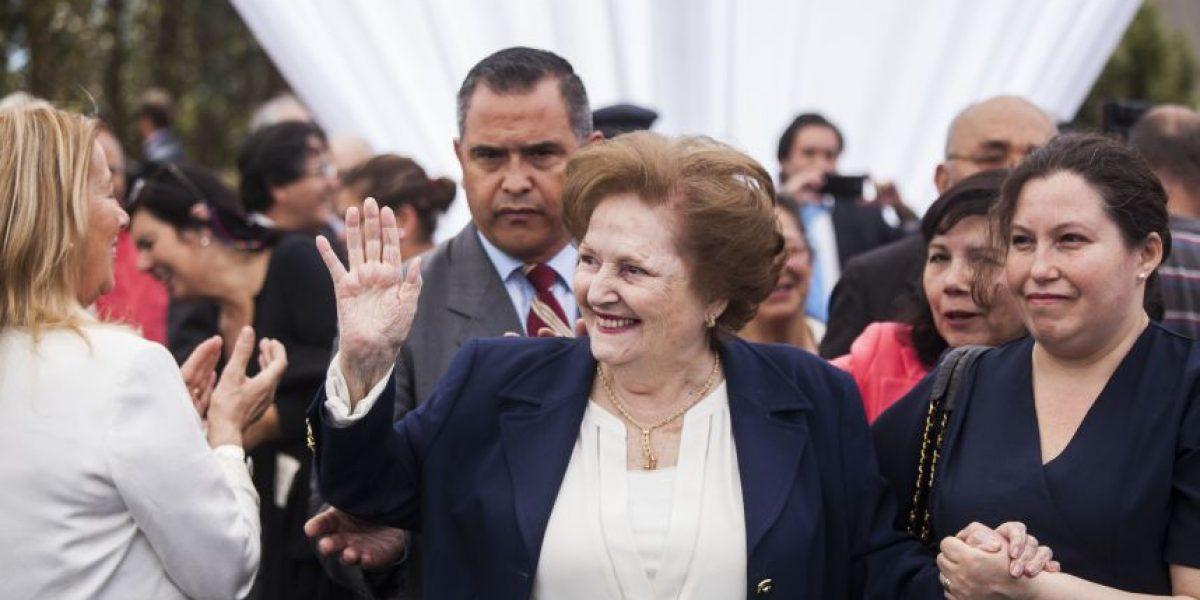 Lucía Hiriart lidera homenaje a Pinochet en Los Boldos
