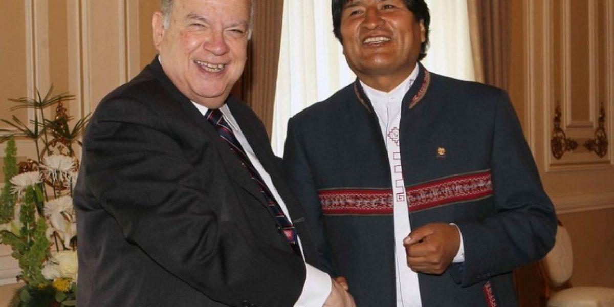 Evo Morales invita a conversar a Insulza: