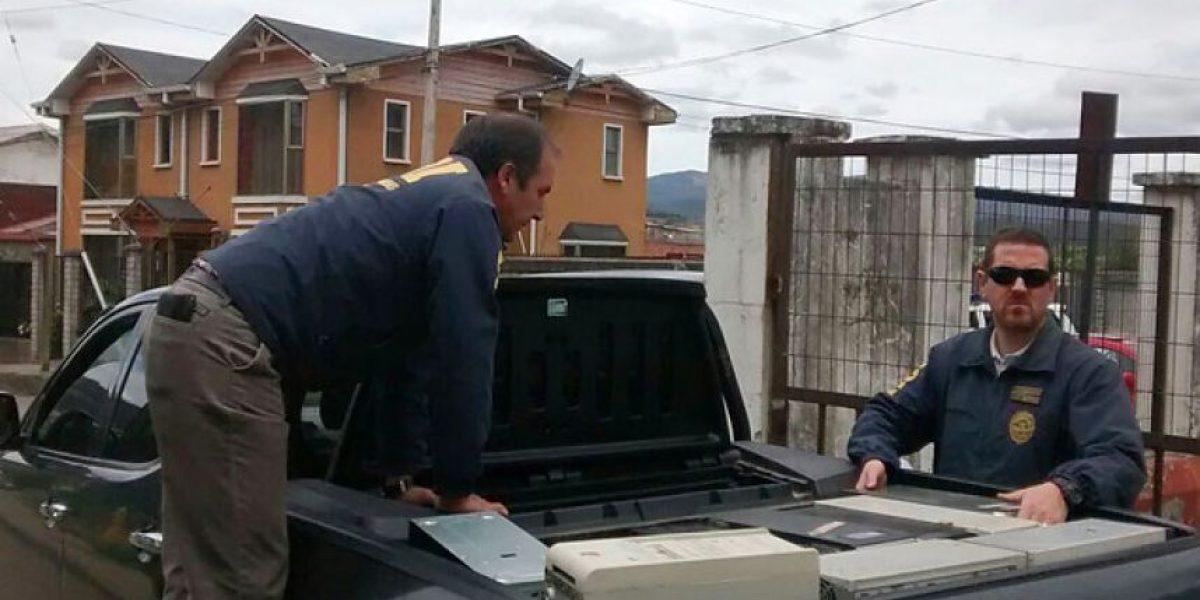 Intenso operativo policial en Lota: allanan casas de alcalde, su chofer y secretaria